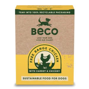 Beco Eco-Conscious Food Free Range Wet Food for Dogs Huhn