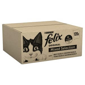 Felix Cat Food Meat And Fish 120x100g