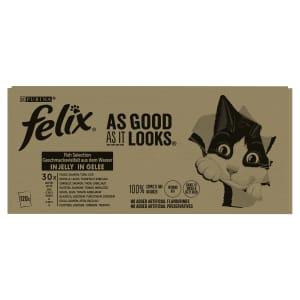 Purina Felix As Good As It Looks Senior Wet Cat Food - Fish