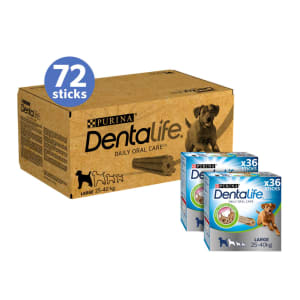 Dentalife Large Adult Dog Daily Chew 72 Sticks