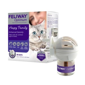 Feliway Classic Starter Kit Plug-In Refill Diffuser