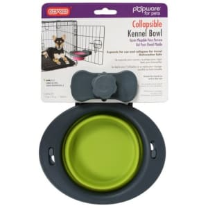 Dexas Popware Collapsible Kennel Bowl Green