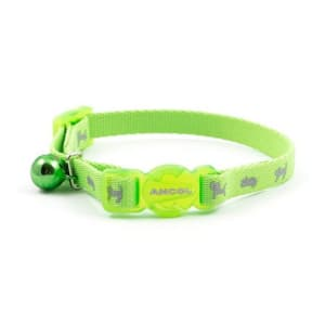 Ancol Safety Kitten Collar Hi-Vis Green