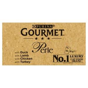 Gourmet Perle Adult Cat Food Ocean Delicacies Pouches