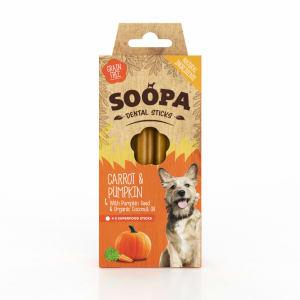 Soopa Grain Free Carrot & Pumpkin Dental Sticks