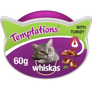 Whiskas Adult Temptations Cat Treats - Turkey
