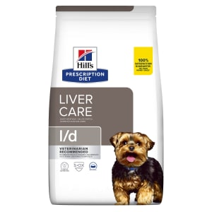 Hill's Prescription Diet Liver Care l/d Dry Dog Food - Pork