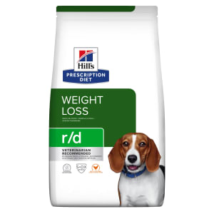 Hills Prescription Diet Gewicht Behering  r/d voor honden