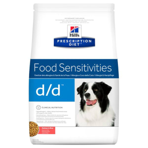Hill's Prescription Diet Food Sensitivities d/d Dry Dog Food - Salmon & Rice
