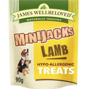 James Wellbeloved Minijacks Hypo-Allergenic Dog Treats - Lamb