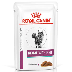Royal Canin Veterinary Diet Renal Adult Wet Cat Food - Fish
