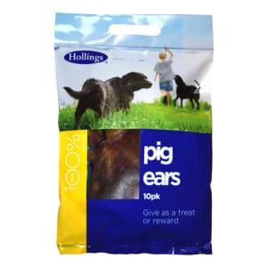 Hollings Pig Ears Dog Treats