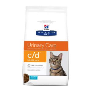 Hill's Prescription Diet Urinary Care c/d Multicare Dry Cat Food - Ocean Fish