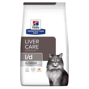 Hill's Prescription Diet Liver Care l/d Adult Dry Cat Food - Chicken