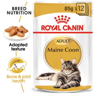 Royal Canin Maine Coon Adult Cat Wet Food in Gravy