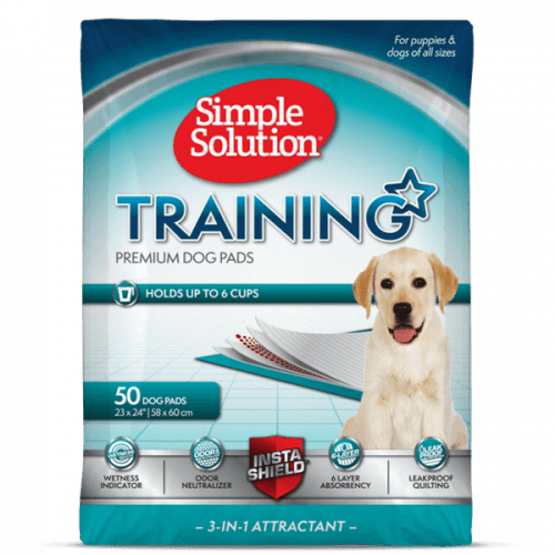 Simple Solution Puppy Training Pads | MedicAnimal.com