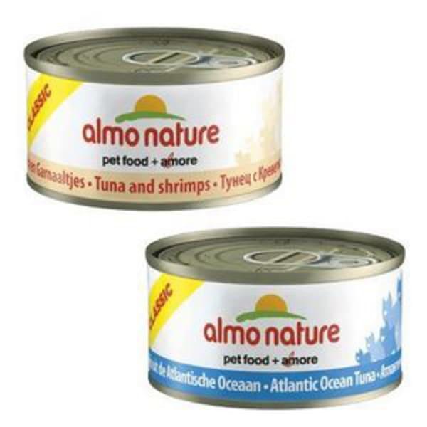 Almo Nature Classic Chat Pâtées au Thon