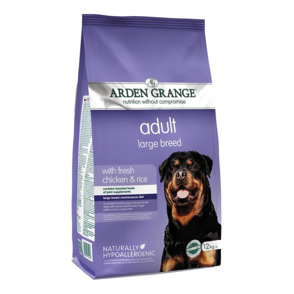 Arden Grange Hypoallergenic Large Adult Dry Dog Food - Fresh Chicken & Rice