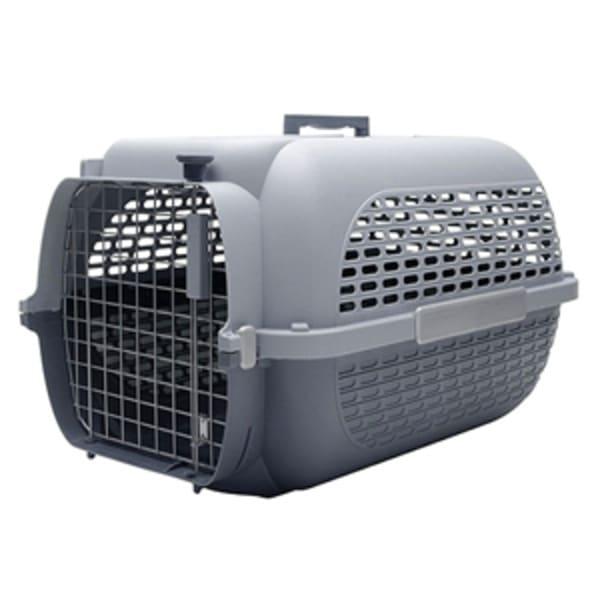 Cage de transport Voyageur grise pour chiens et chats
