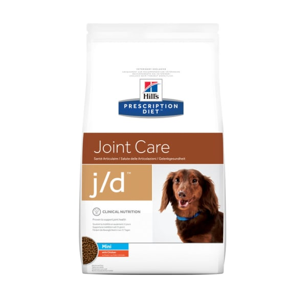 Hill's Prescription Diet Joint Care j/d Small Bites Dry Dog Food - Chicken