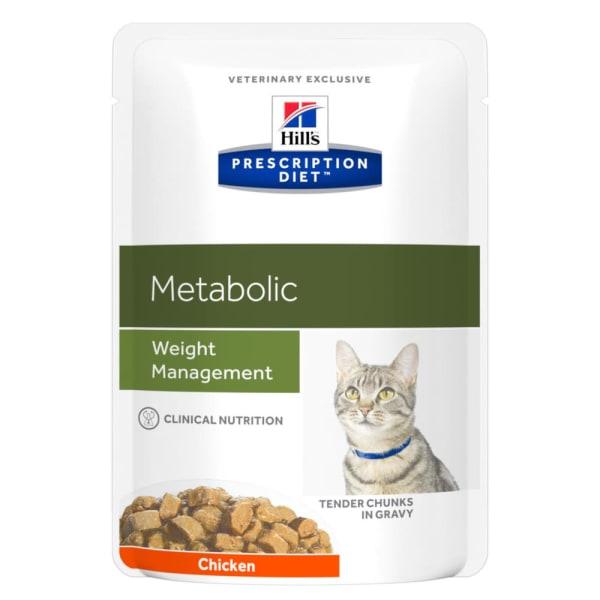 Hill's Prescription Diet Metabolic Weight Management Wet Cat Food - Chicken