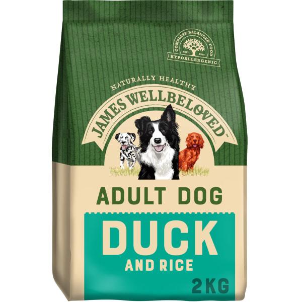 James Wellbeloved Medium Adult Dry Food Dog - Duck & Rice