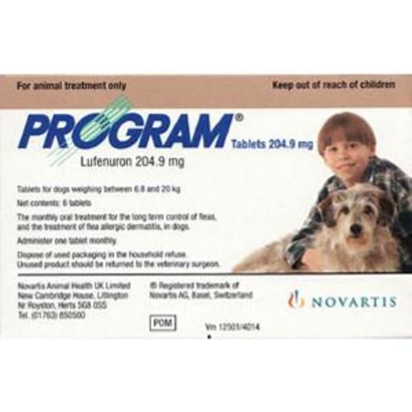 Program Novartis Dog Capsules