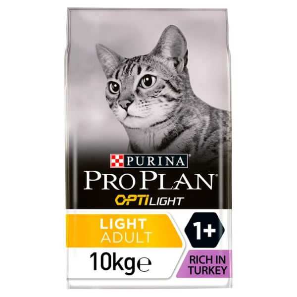 Purina Pro Plan Light Optirenal Adult Dry Cat Food - Turkey & Rice