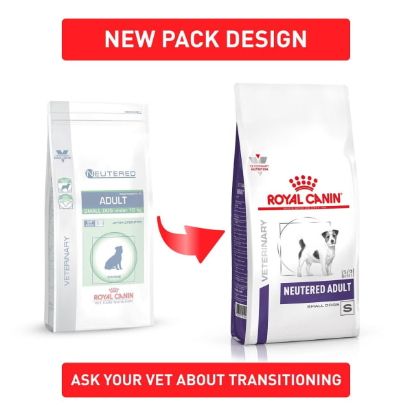 Royal Canin Neutered Small Adult Dry Dog Food