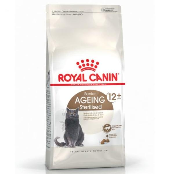 Royal Canin AGEING 12+ Sterilised Trockenfutter für ältere kastrierte Katzen