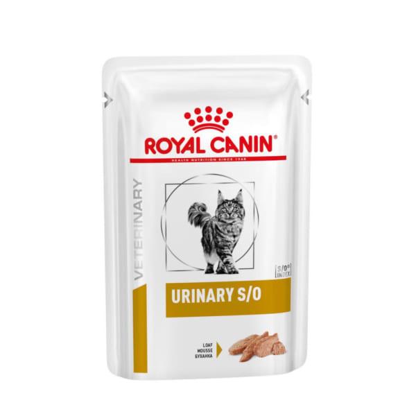 Royal Canin - Vet Diet Féline - Urinary S/O Mousse