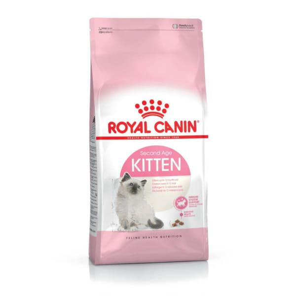 Royal Canin Kitten Second Age Pour Chaton De 4 A 12 Mois