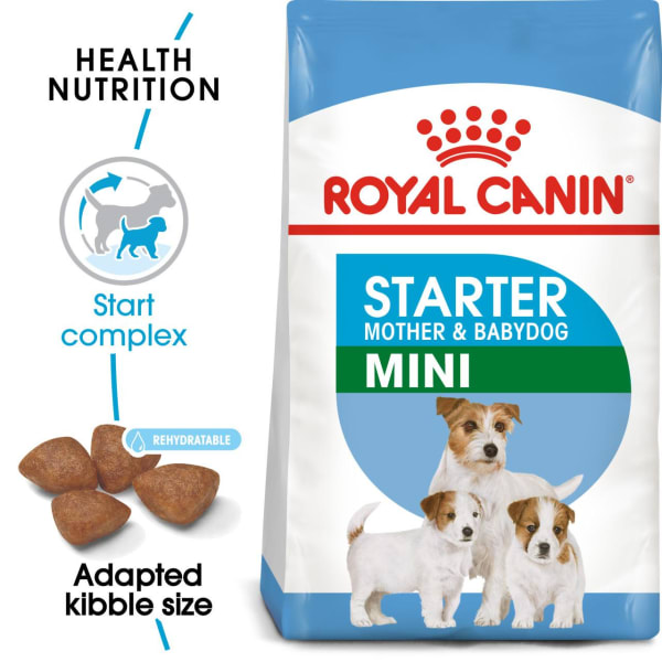 Royal Canin Mini Starter Mother & Babydog Adult/Puppy Dry Dog Food
