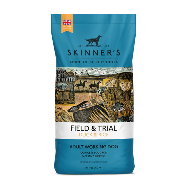 Skinners Field & Trial Hypoallergenic Adult Dry Dog Food - Duck & Rice