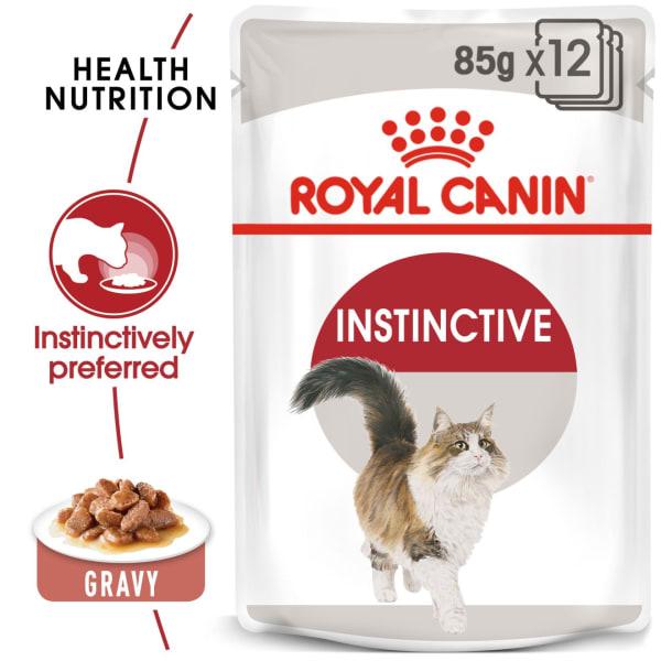 Royal Canin Instinctive Adult Wet Cat Food - Gravy