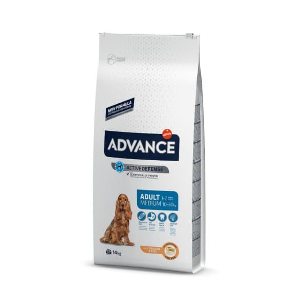 Advance Medium Adult Hundefutter mit Huhn & Reis