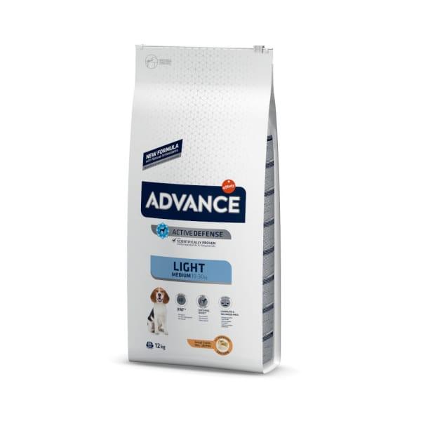 Advance Medium Light Hundefutter mit Huhn & Reis
