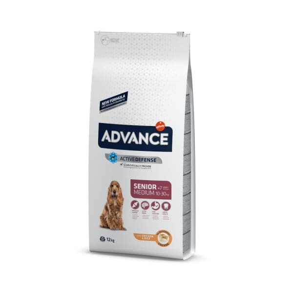 Advance Medium Senior - Poulet & Riz - Chien Race Moyenne