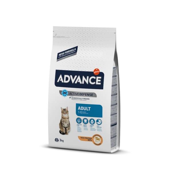 ADVANCE Adult Katzenfutter mit Huhn & Reis