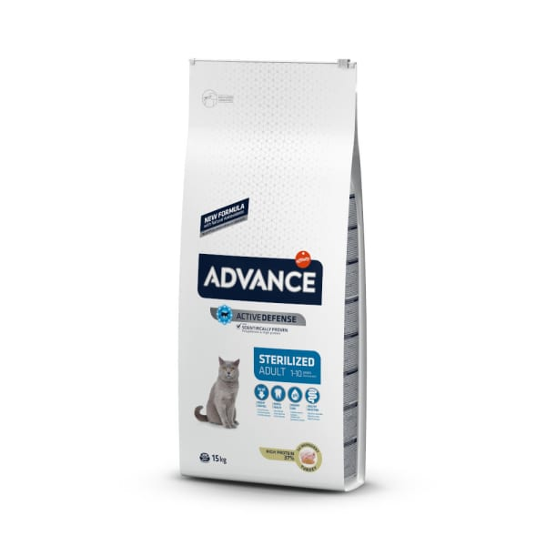 Advance Active Defence Adult Sterilized Cat Food - Turkey & Barley