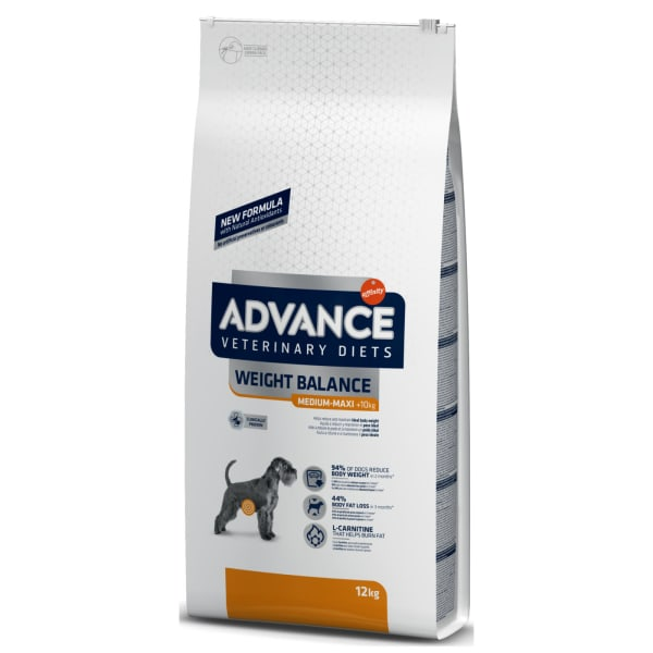 Advance Veterinary Diets Weight Balance Canine Adult Dry Dog Food