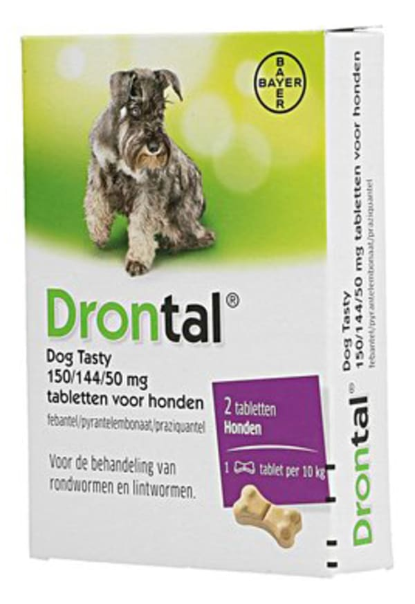 Drontal voor honden