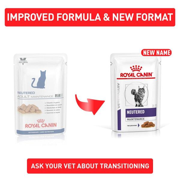 Royal Canin Veterinary Care Neutered Adult Maintenance Wet Cat Food