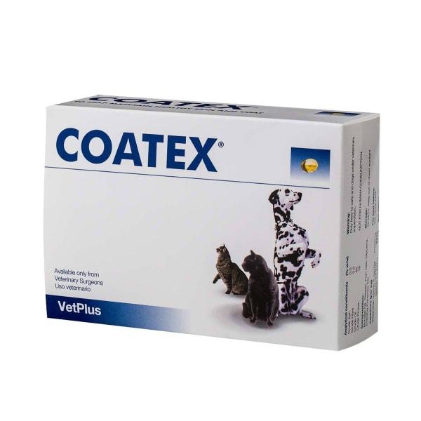 VetPlus Coatex Capsules for Cat & Dog