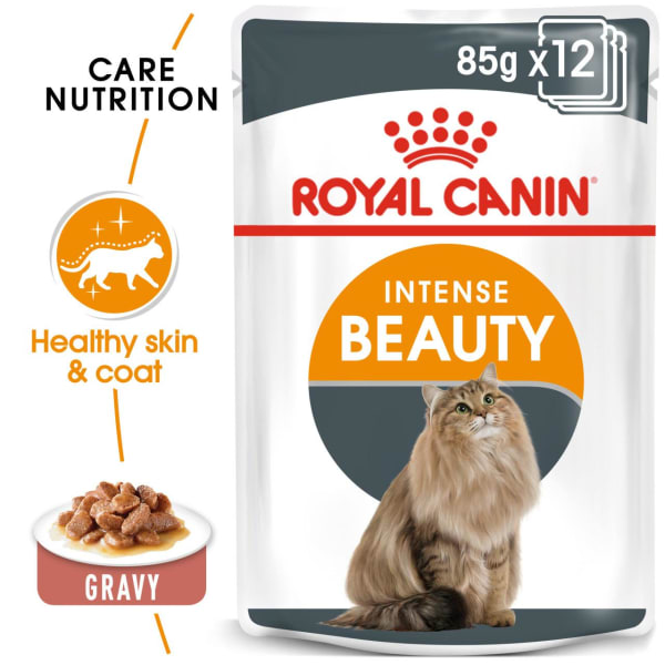 Royal Canin Intense Beauty Adult Wet Cat Food