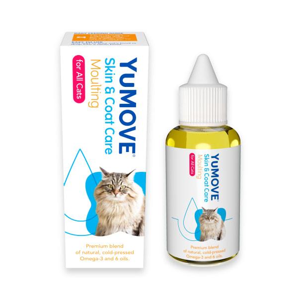 YuDERM Moulting Cat Skin Supplement
