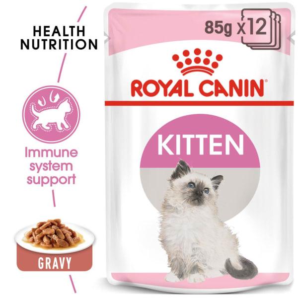 Royal Canin Kitten Instinctive Kitten Cat Wet Food - Gravy