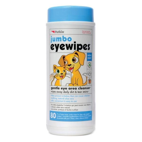 Petkin Dog & Cat Jumbo Eye Wipes