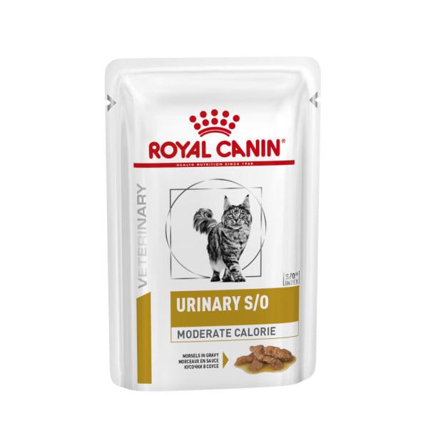 Royal Canin - Vet Diet Féline -  Urinary Moderate Calorie en Sachets