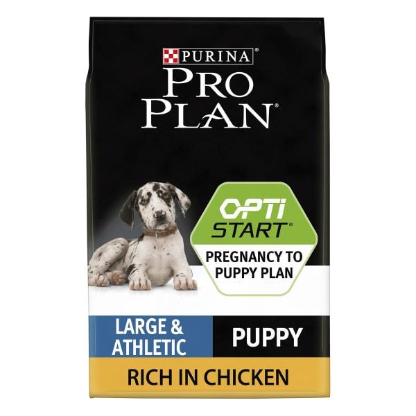 Purina Pro Plan Opti Start Large Athletic Puppy Dry Dog Food - Chicken